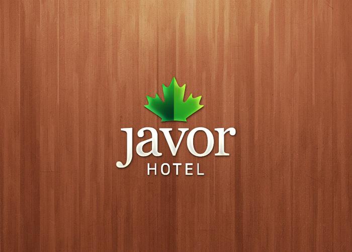 Javor Hotel - Logo design for mountain resort \